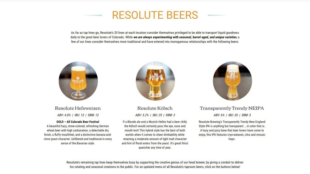 Custom entry method for core beers